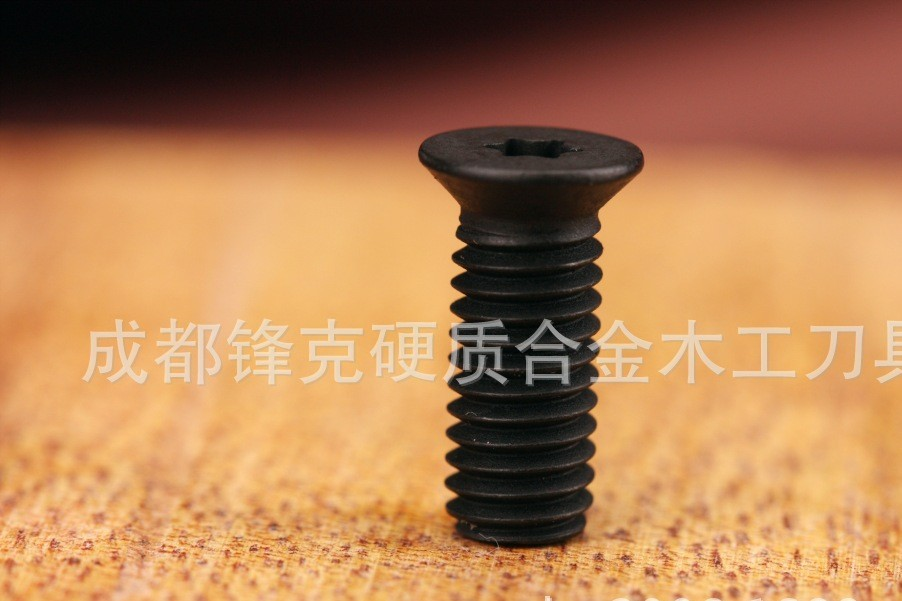 舍弃式螺旋刀片专用星形梅花槽螺丝M6×15梅花槽T20