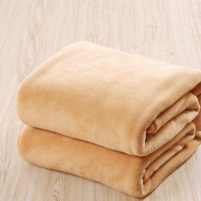 厂家直销 礼品法莱绒毛毯 手机店活动毛毯 珊瑚绒加厚绒毯 批发
