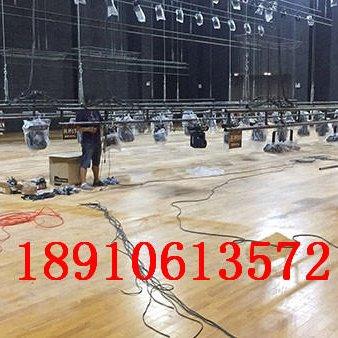体育馆专用实木地板 篮球馆运动木地板