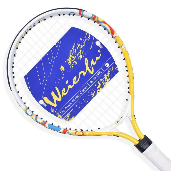 正品网球拍WEIERFU威尔夫儿童网球拍初学童拍1719 21 23 25英寸