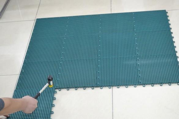 篮球馆室外悬浮拼装运动地板