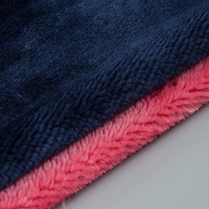 全涤单面法兰绒布料 绒布面料 秋冬针织面料 服装鞋料家纺面料