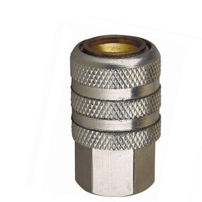 轮胎充气快速接头 轮胎充气夹头 自锁式轮胎充气嘴 铜加气接头