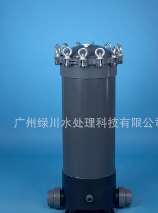 全塑精密过滤器 塑料 40寸9芯 UPVC过滤器 PVC保安过滤器