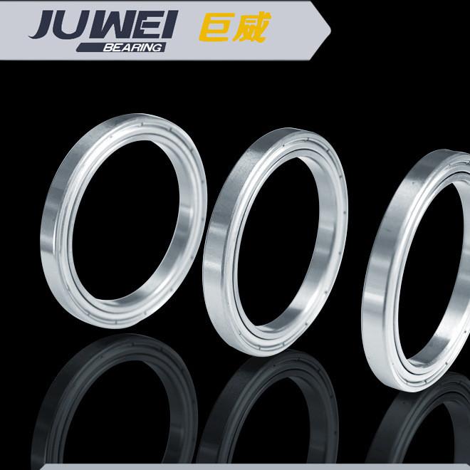 厂家直销6802ZZ JUWEI薄壁轴承 单列深沟滚道高速 深沟球轴承批发