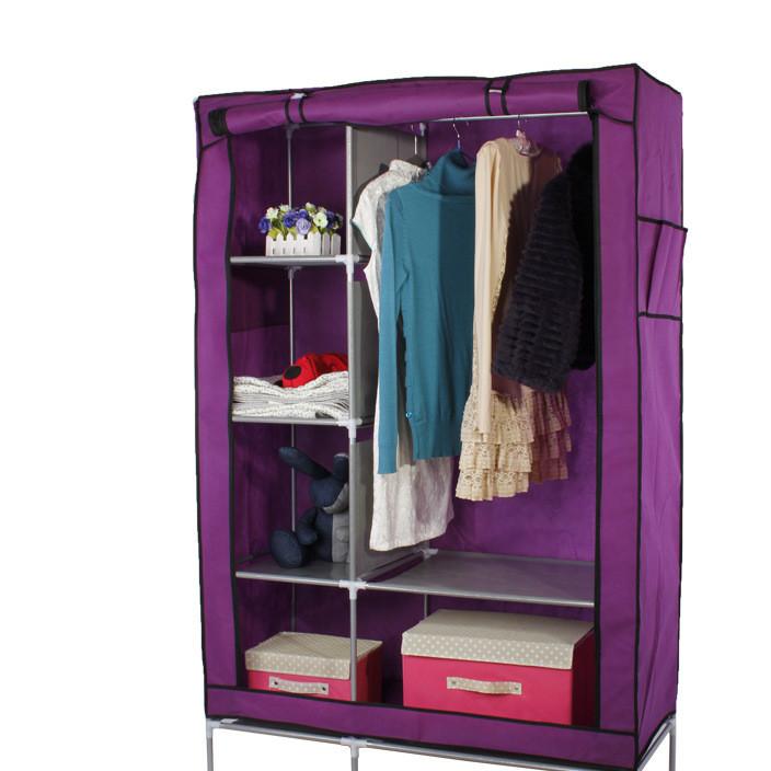 企业集采 欧式简易无纺布衣柜 折叠整体衣柜 无纺布衣柜批发
