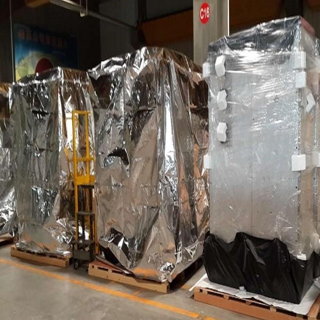 厂家定制 大型机械木质包装箱 免熏蒸/熏蒸真空包装木箱