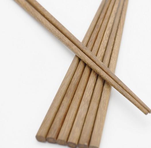 厂家直销餐具批发裸装铁木木质筷子火锅专用筷子家庭餐桌成人筷子