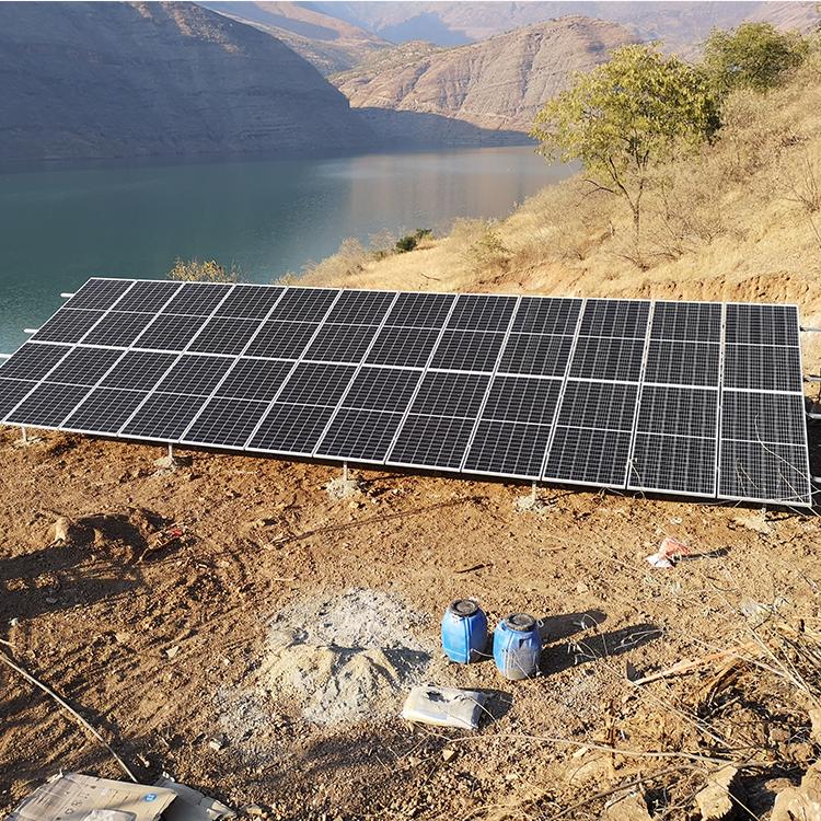 太阳能提灌站